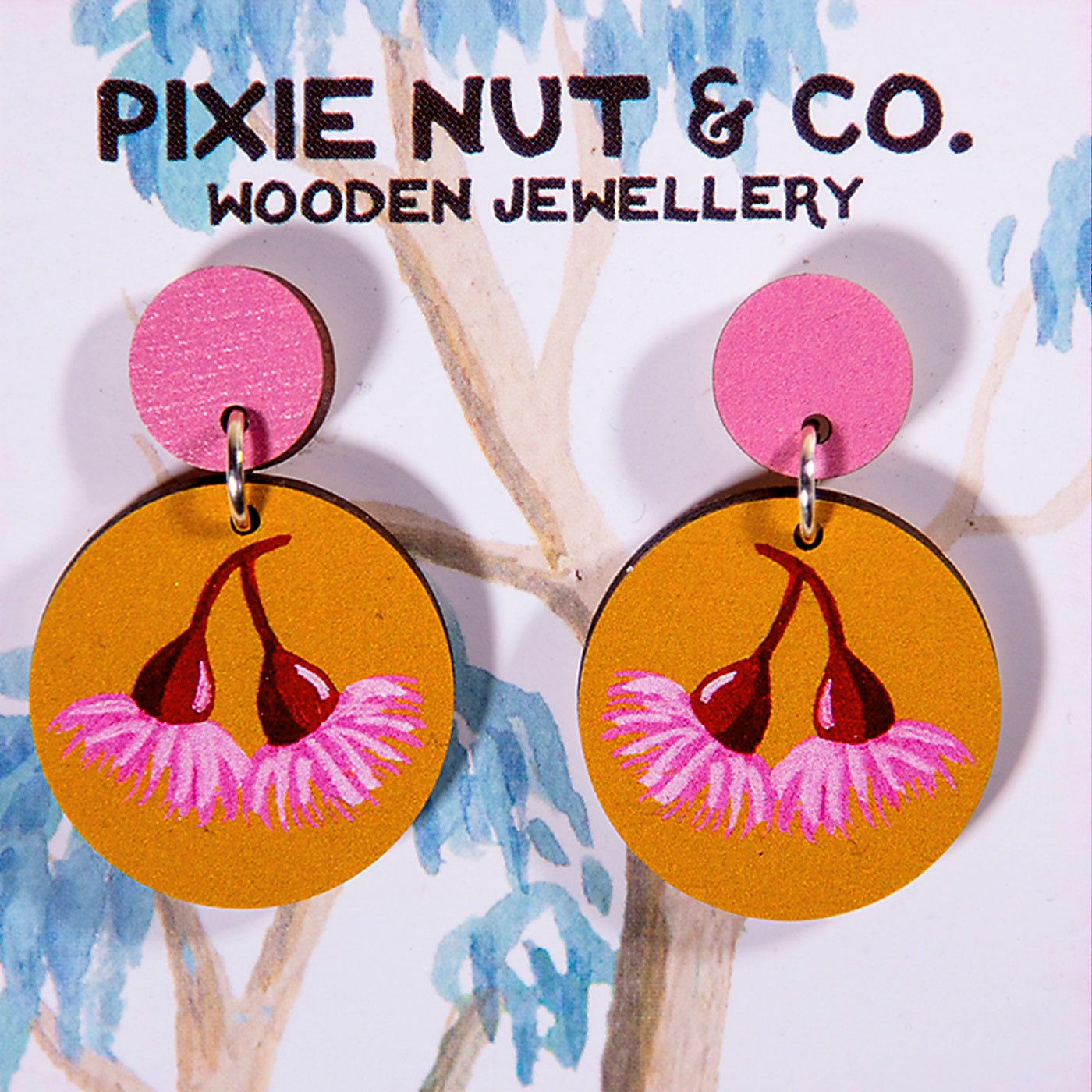 Pixie Nut & Co - Earrings - Gum