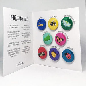 Red Parka - Magnet Pack - Bugs and Insects