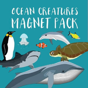 Red Parka - Magnet Pack - Ocean Creatures