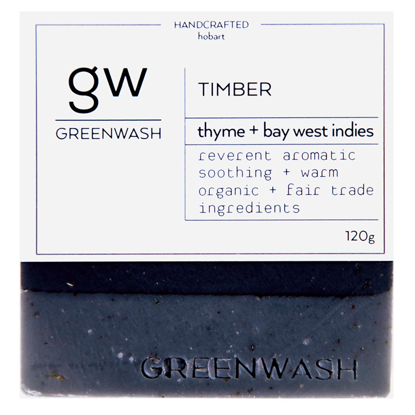 Greenwash - Soap Bar - Timber
