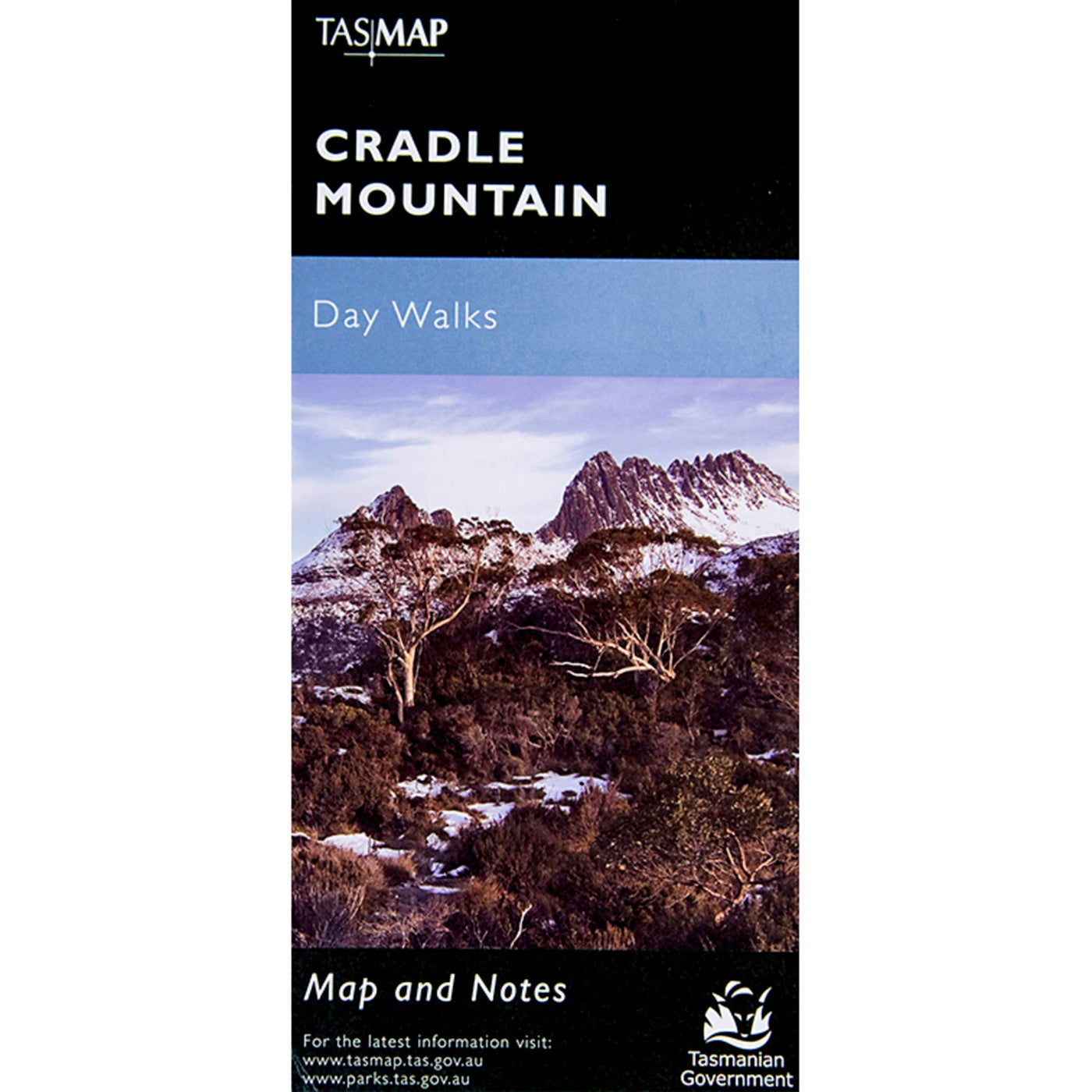 Cradle Mountain Map Day Walks