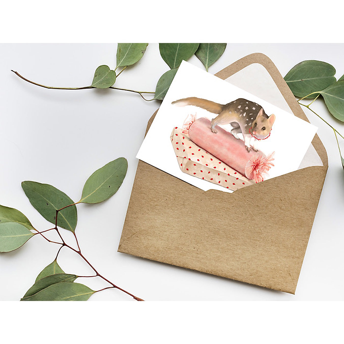 Best in Show - Christmas Card - Quoll