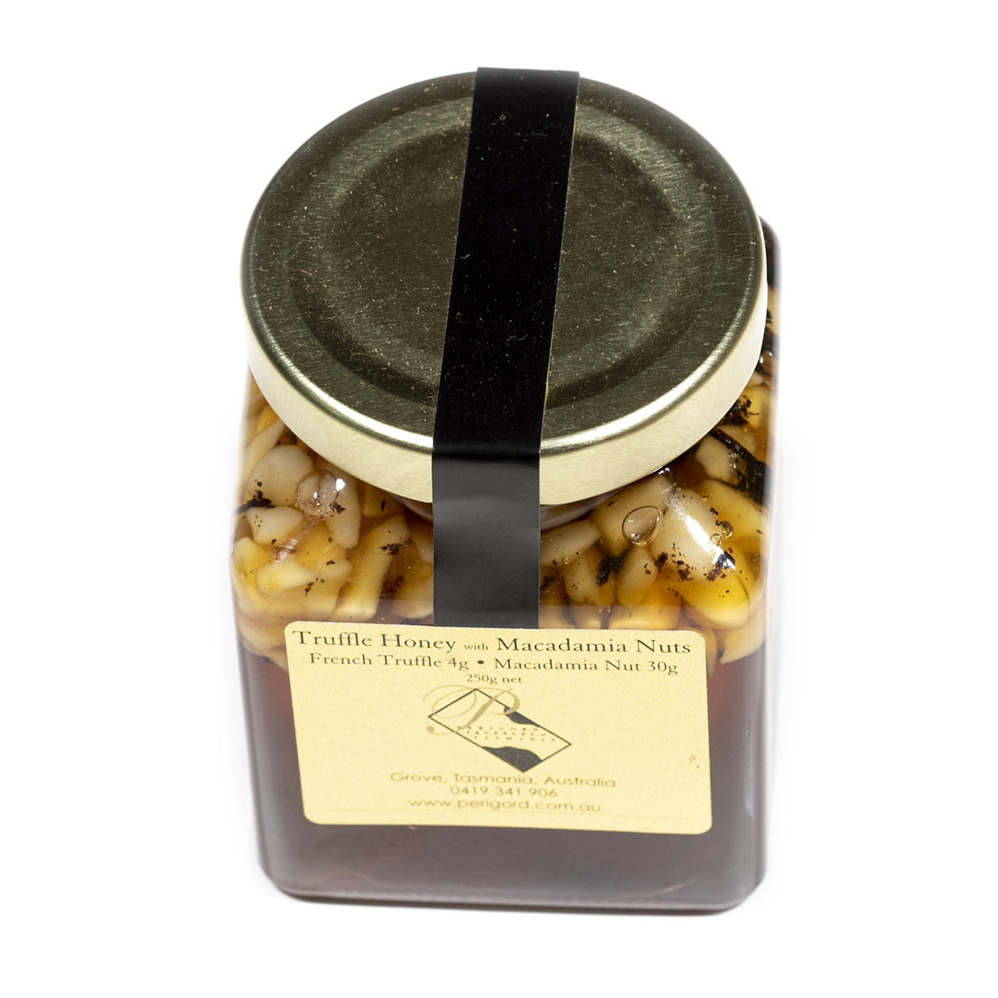Perigord Truffles of Tasmania - Truffle Honey with Macadamia Nuts - 250g