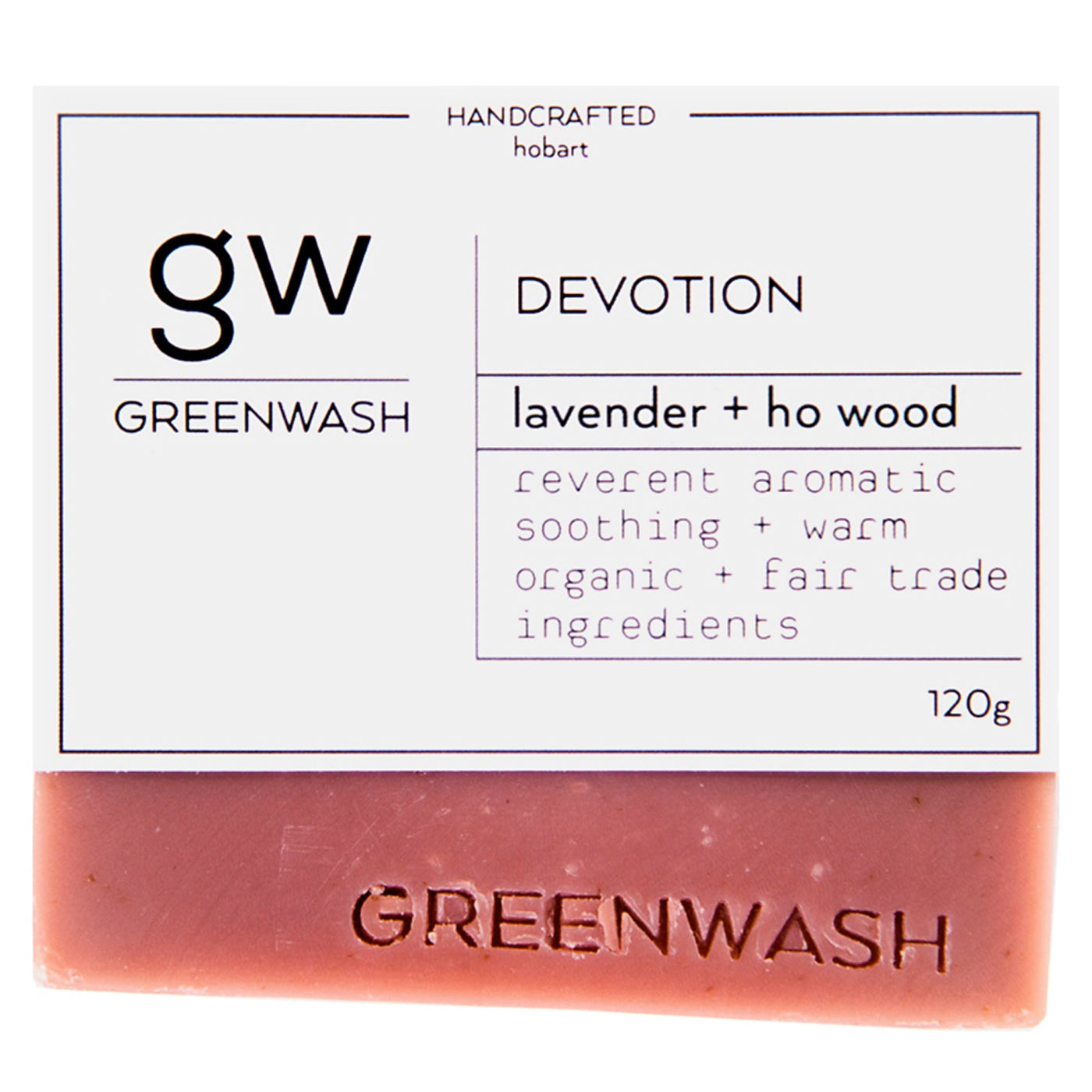 Greenwash - Soap Bar - Devotion