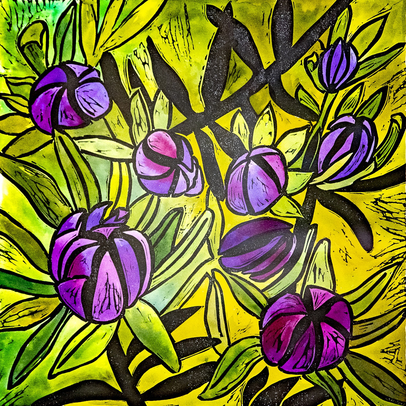 Prue Hutton - Purple Mountain Berries