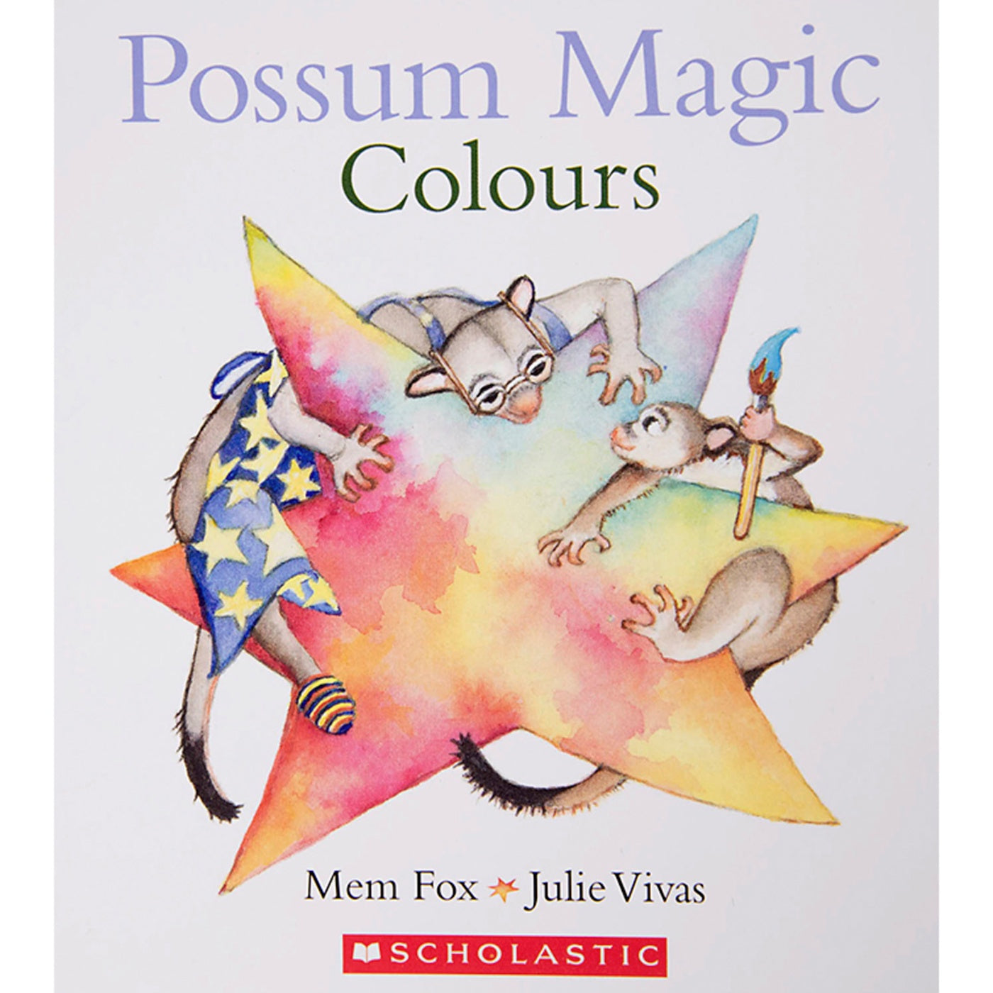 Possum Magic Board Book - Colours