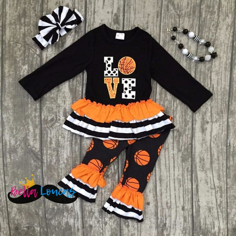 Basketball Boutique Ruffle Set