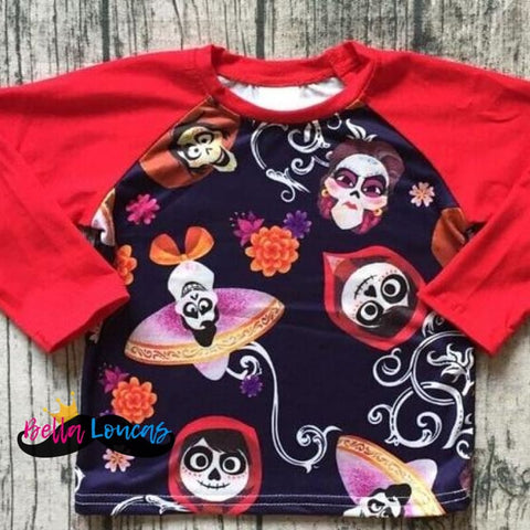 New! - Red Coco Boys Matching Tee - 12/18M (Xs)
