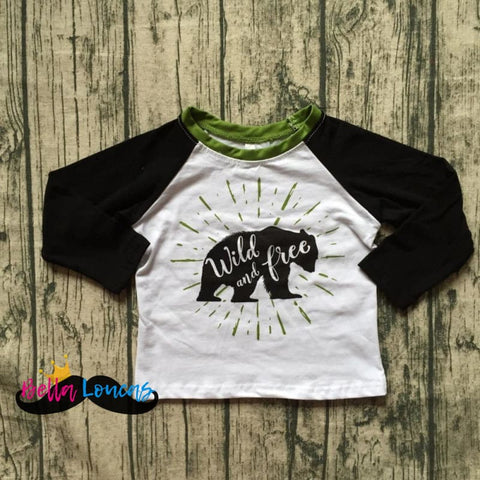 Wild & Free Boys Long Sleeve Tee - 2T