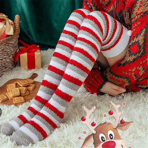 2 Pairs of Christmas Knee Length Socks