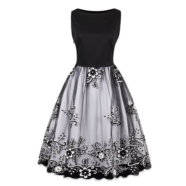 Fashion Embroidered Vintage Dress(S-4XL)
