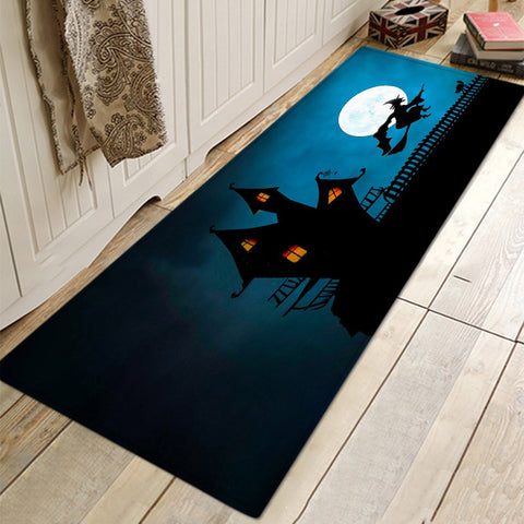 Halloween Night Mat Rugs For Bathroom Living Room Kitchen
