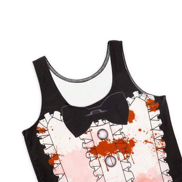 Halloween Zombie Maid Sexy Slim Slim Thin Dress