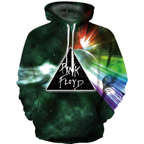 3D The Dark Side Of The Moon Pink Floyd The Wall Sweatshirt Hoodie Jacket Coat