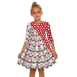 Christmas Children's Clothing Girls Dress