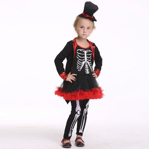 Halloween Children's Cosplay Performance Costume Role Playing Pirate Thief Set
