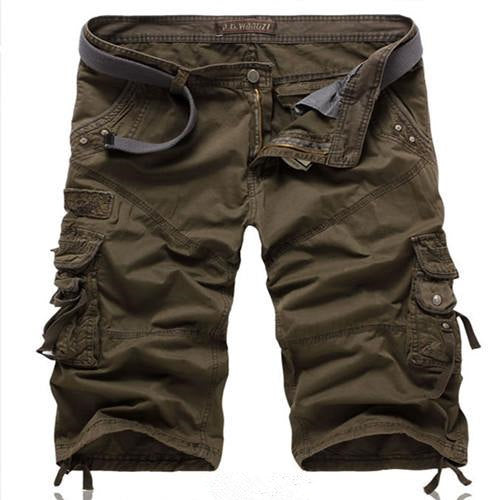 Men's Loose Multi-Pocket Cargo Shorts