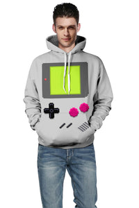 Game Machine Printing Hoodie Baseball Sweater