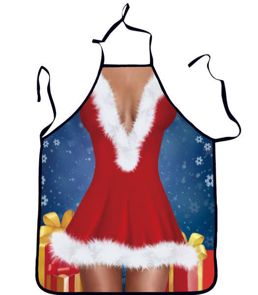 Christmas Woman Sexy Kitchen Cooking Apron
