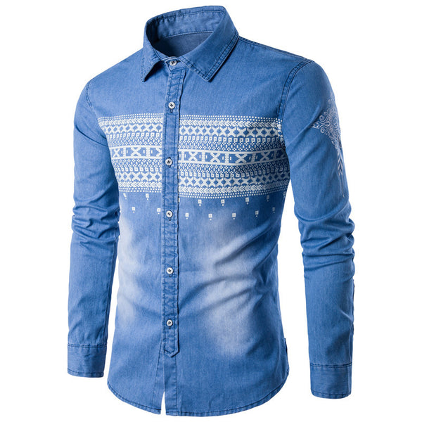 Cowboy Embroidered Shirt