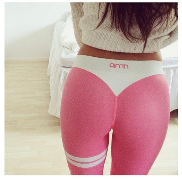Printed High Waist Yoga Leggings