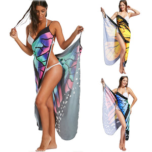 Sexy Backless Beach Party Butterfly Dresses