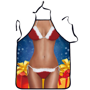 Bikini Printed Sexy Kitchen Cooking Apron