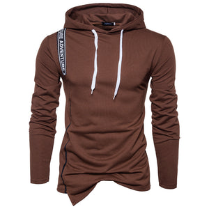 Color Strip Stitching Sports Pullover Sweater