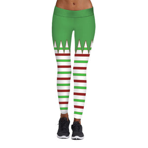 Christmas Digital Print Sweatpants