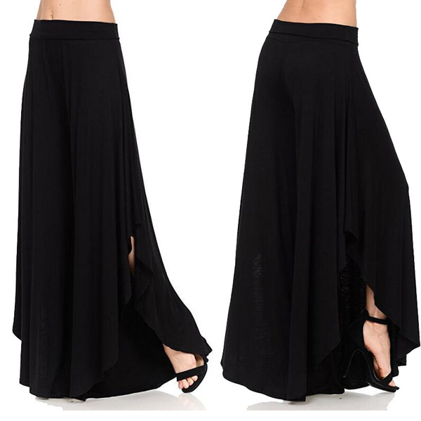 Women's Irregular Comfortable Wide-leg Pants