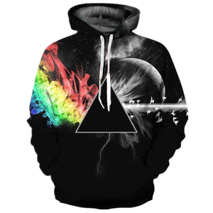 Pink Floyd The Dark Side of the Moon Hoodie Casual Sweatshirt