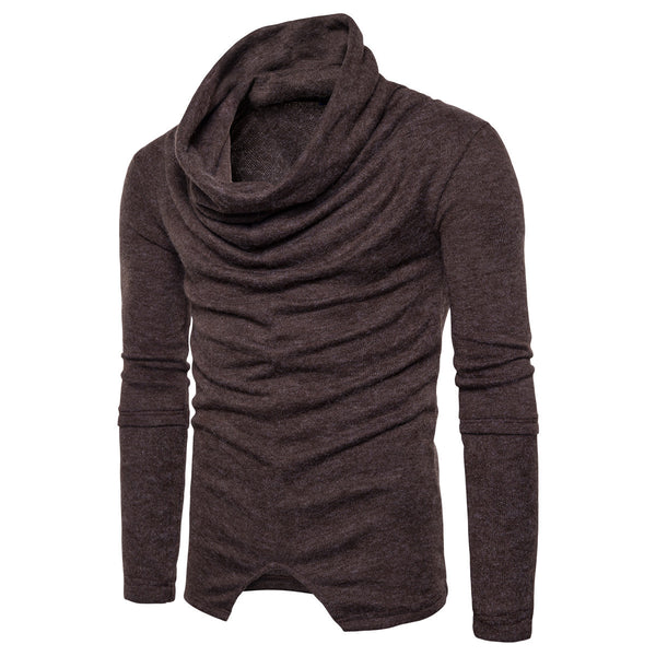 Fashion Turtleneck Pullover Men Knitted Sweater