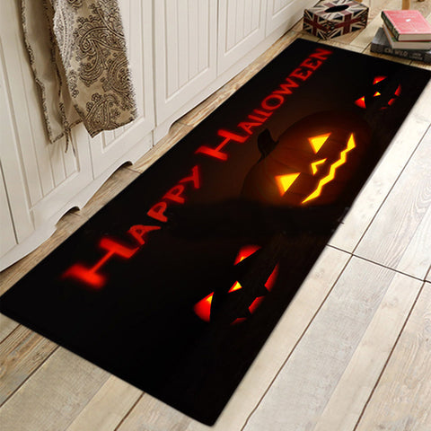 Halloween  Mat Rugs Pumpkins For Bathroom Living Room Kitchen