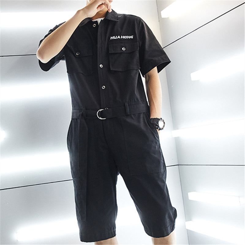 Men's Casual Loose Fitted Romper