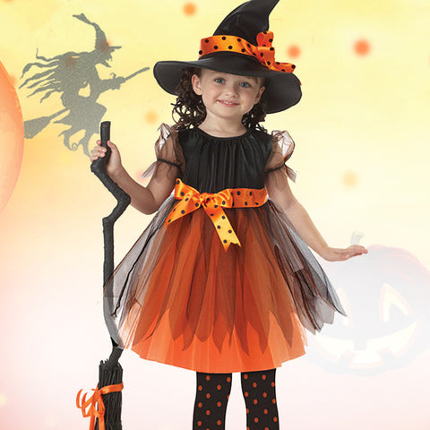 Halloween Girl Cosplay Witch Anime Costume