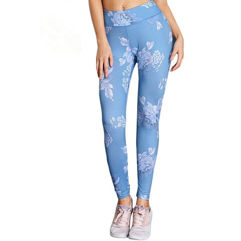 High Elastic Fitness Slim Sportswear Quick Drying Skinny Leggings