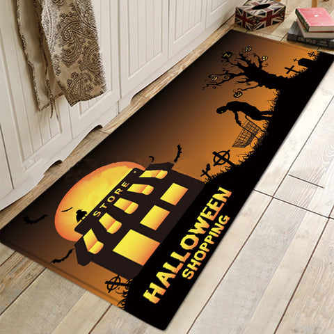 Halloween Mat Doormat Rugs For Bathroom Living Room Kitchen
