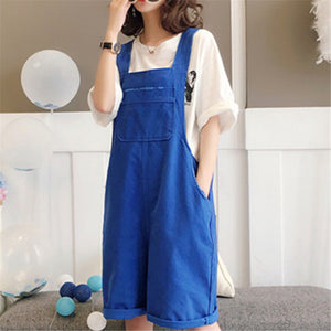 Casual Wide Legs Jumpsuit Skirt Overalls