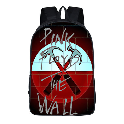 Pink Floyd The Wall School Book Bag Comfortable Backpack