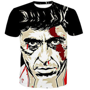 Alpacino Jackson Print Short Sleeve T-Shirt