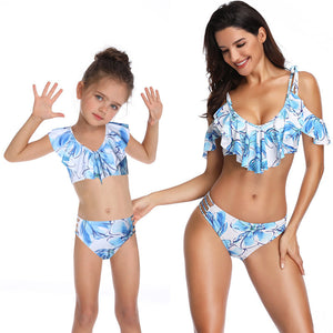 541019d015eed Parent-child Swimsuit Family Matching Swimwear