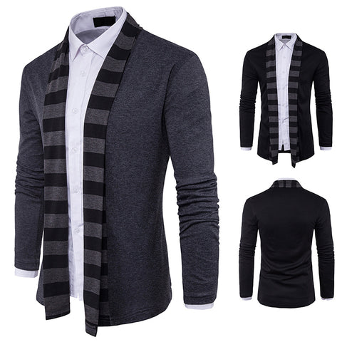 Men's Long Sleeve Fit Casual Cardigan