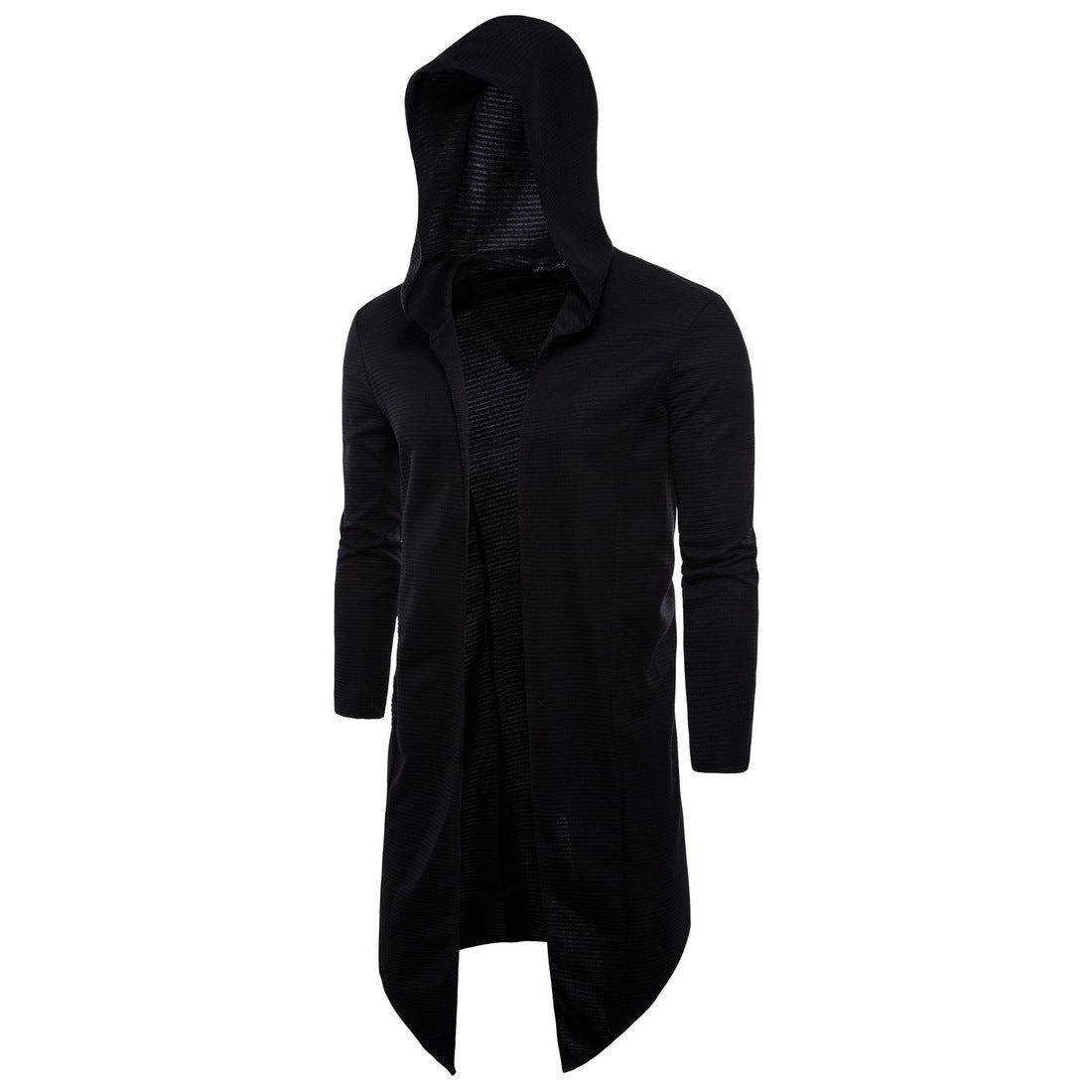 New Style Large Size Long Clothes Hooded Jacket