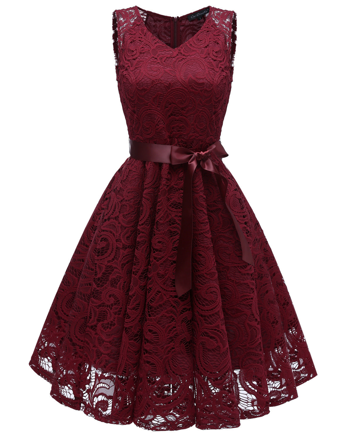 Lace Patchwork Vintage Dress