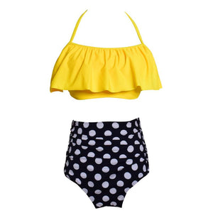 Parent-child Swimsuit Family Matching Swimwear Cute Bikini