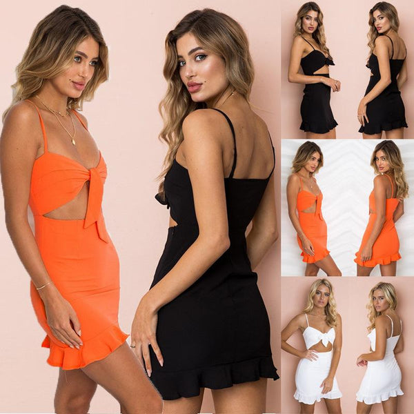 Two Piece Crop Top Bodycon Skirt Set