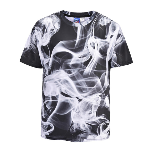 Art Smoke 3D Print T-Shirt