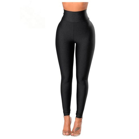 Casual High Waist Elastic Pencil Pants Fitness Legging