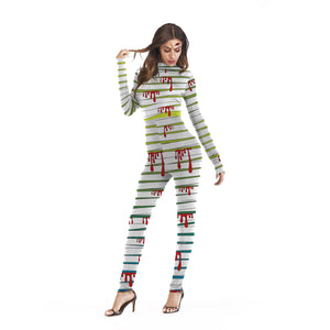 Halloween Cosplay Print Printed Party Bodysuits Jumpsuits