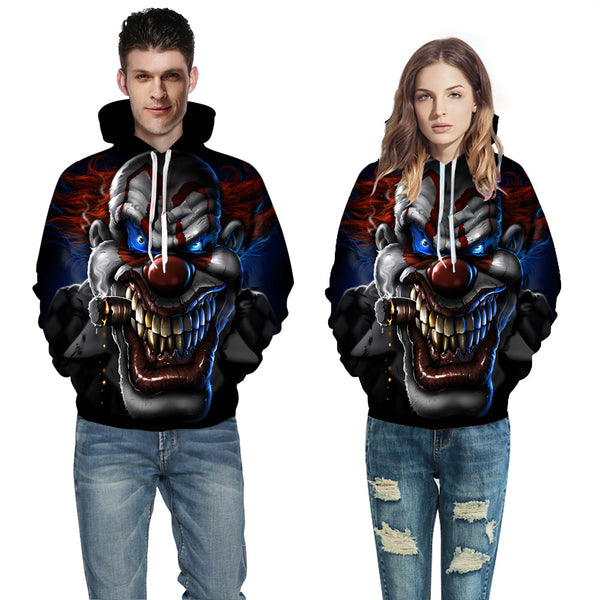 3D Printed Men's and Women's Halloween Hoodie